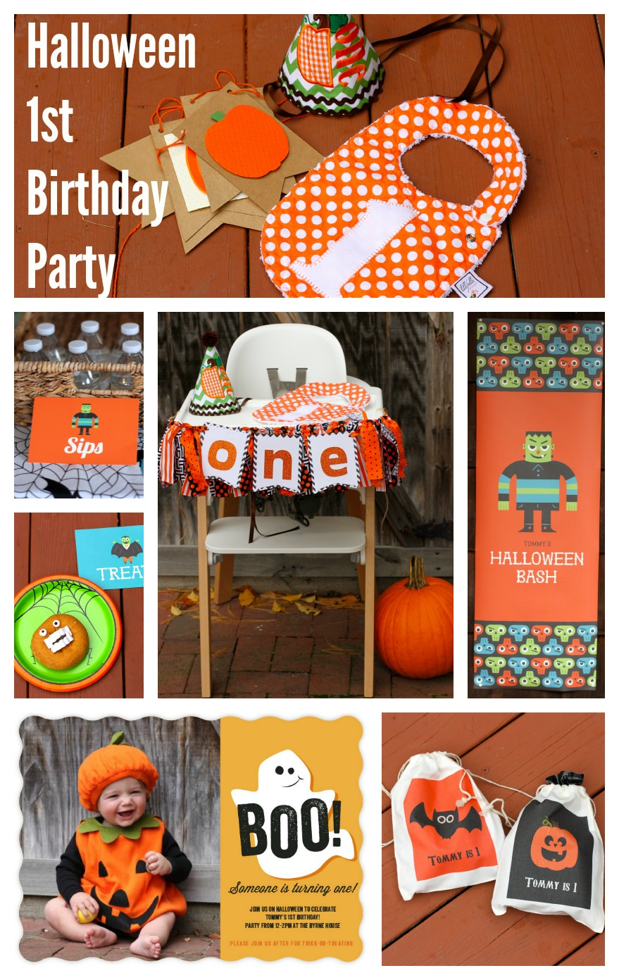 Halloween Themed Birthday Party For Toddler.A Halloween First Birthday Party Invites Decor And Party Planning