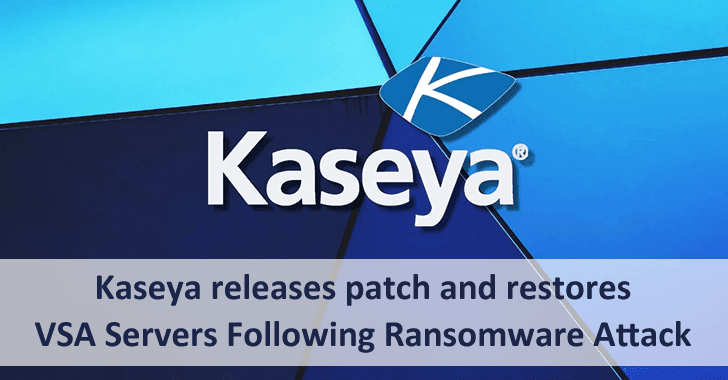 Kaseya Releases Patch