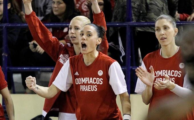 Οι αριθμοί στις φανέλες των γυναικών του Ολυμπιακού