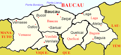 East Timor District of Baucau administrative divisions Law Justice Bulletin