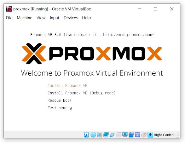 إنشاء الخوادم الإفتراضية بإستخدام بروكس موكس