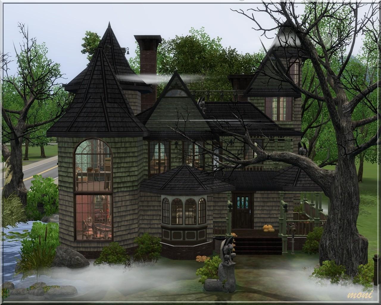 Halloween Home Decor Arda Sims Witch House