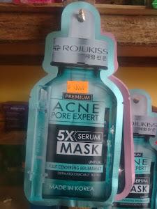 photo produk Rojukiss Acne Pore Expert 5X Serum Mask
