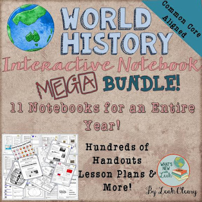 World History Interactive Notebook Mega Bundle