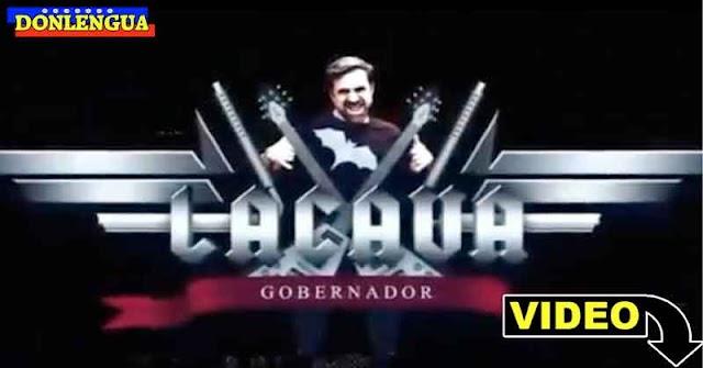 Rafael Lacava prepara su campaña política al estilo rockero