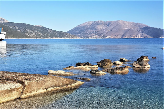 Cheap flights to Europe - Kefalonia scenery on a package deal