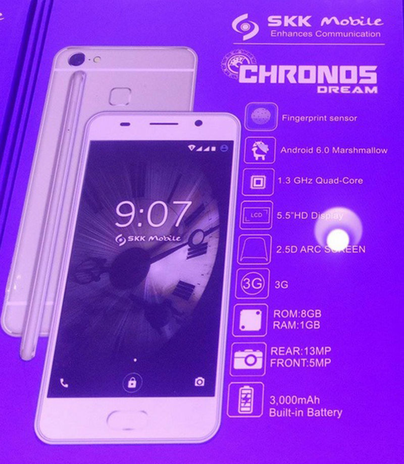 SKK Chronos Dream Looks Very Much Like The Oppo F1s
