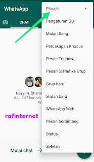 Cara agar whatsapp terakhir dilihat kemarin atau last seen palsu