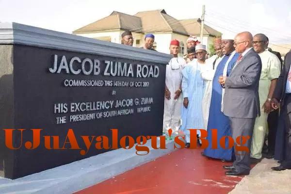 SERAP asks CCB, ICPC to probe Okorocha over 'N1bn statues of Zuma, Johnson-Sirleaf'