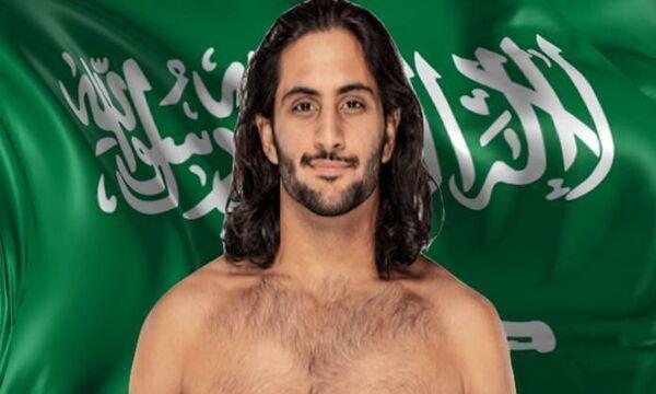 المصارع السعودي منصور الشهيل يواصل تألقه في WWE ويحقق رقما قياسيا جديدا