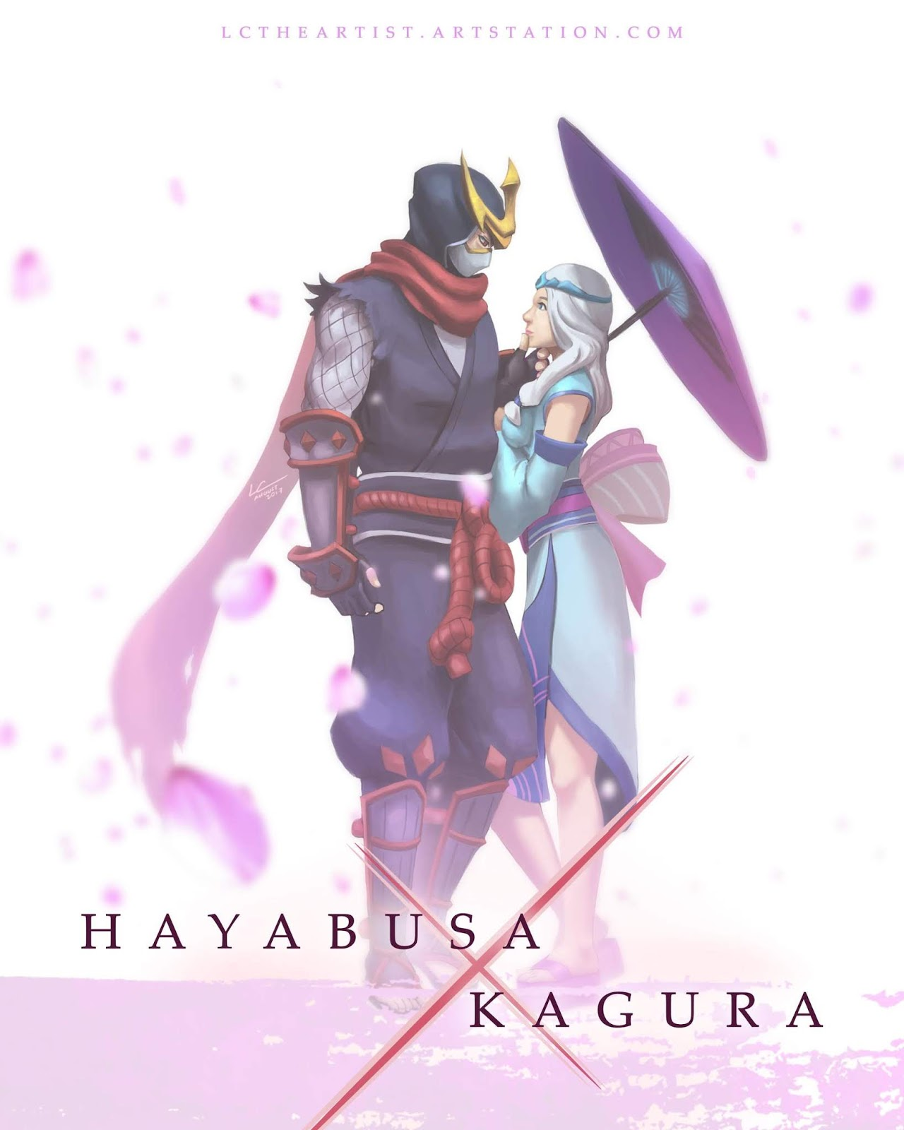 Wallpaper Kagura and Hayabusa Mobile Legends Full HD for Android and iOS