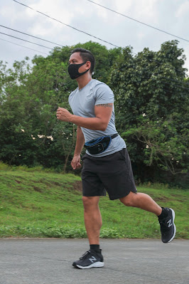 Mikey Bustos Running
