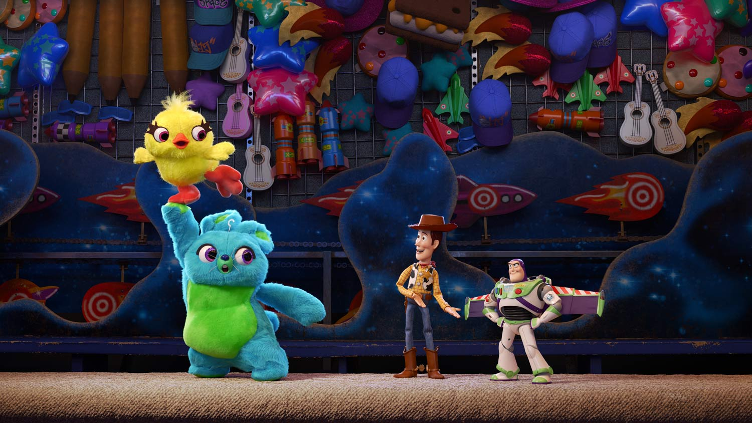 Toy Story 4 - DUCKY y BUNNY