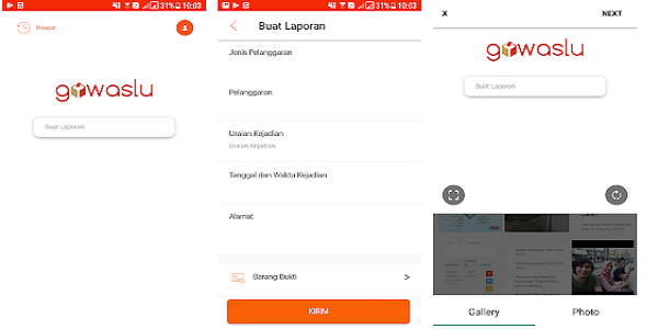 Aplikasi Pemilu Gowaslu