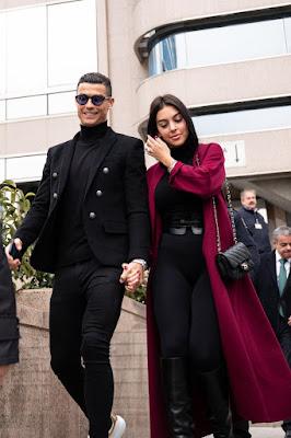 Cristiano Ronaldo và Georgina Rodriguez.