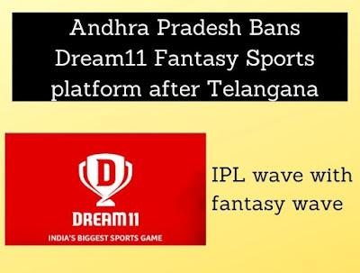 Andhra Pradesh Bans Dream11