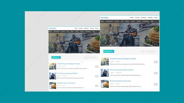 template blog adsense nextbite