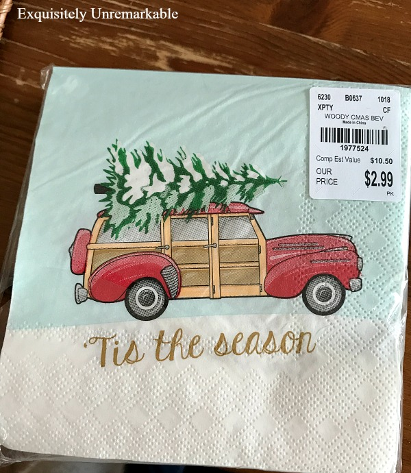 Tis The Season Napkins