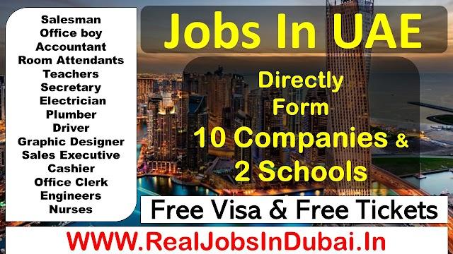 Jobs In Dubai For Indians Graduate- 2020