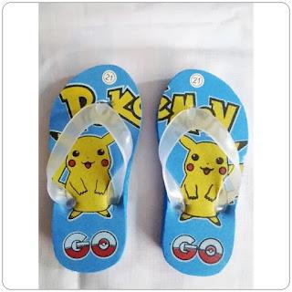 Sandal Jepit Pokemon Baby