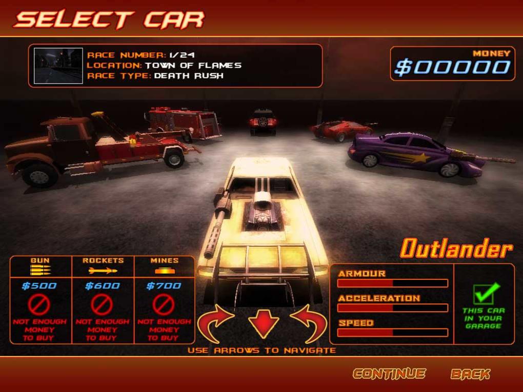 تحميل لعبة سباق الموت Deadly Race للكمبيوتر 2021