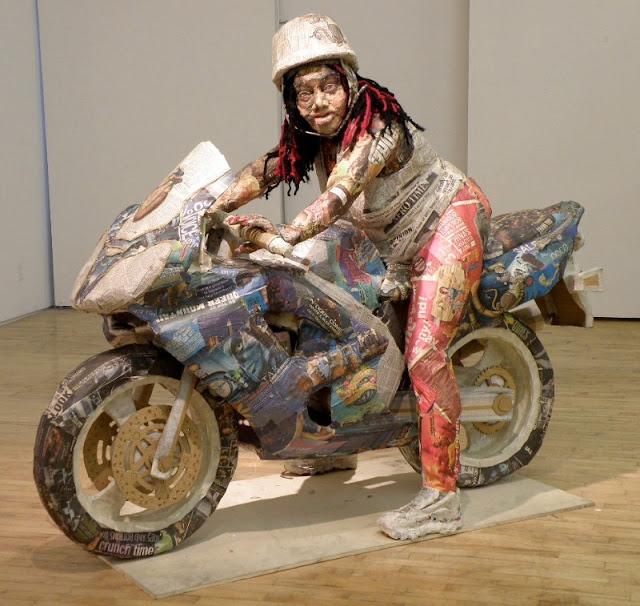 Скульптуры из мусора Уилла Курца 25
