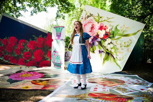 Will Todd: Alice's Adventures in Wonderland - Fflur Wyn at Opera Holland Park in 2017 (Photo Alex Brenner)