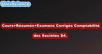 Cours+TD+Examens+Résumés Comptabilité Des sociétés S4