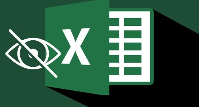 Excel'de Sütunları ve Satırları Gizle-www.ceofix.com
