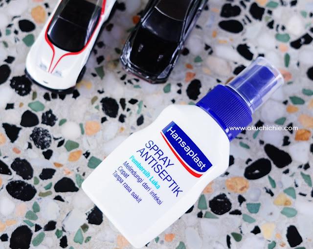 Hansaplast Spray Cairan Antiseptik
