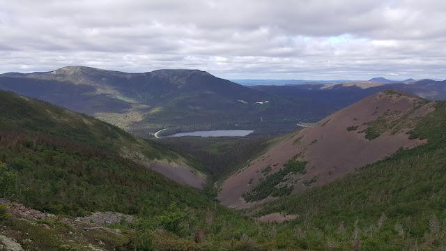 Vue à partir du mont Vallières-de-Saint-Réal