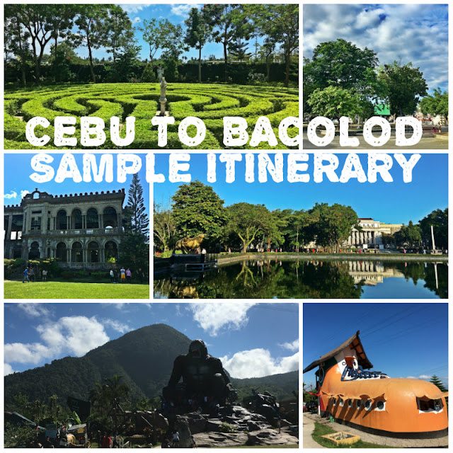Cebu to Bacolod Itinerary