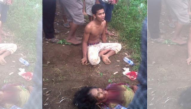 Begal Sadis Gorok Leher Ibu 6 Anak Hingga Tewas Hanya Karena Ingin Merampas Kalung Korban.