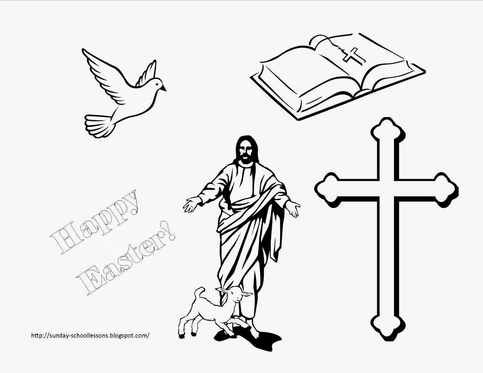 sunday school lessons coloring pages-#48