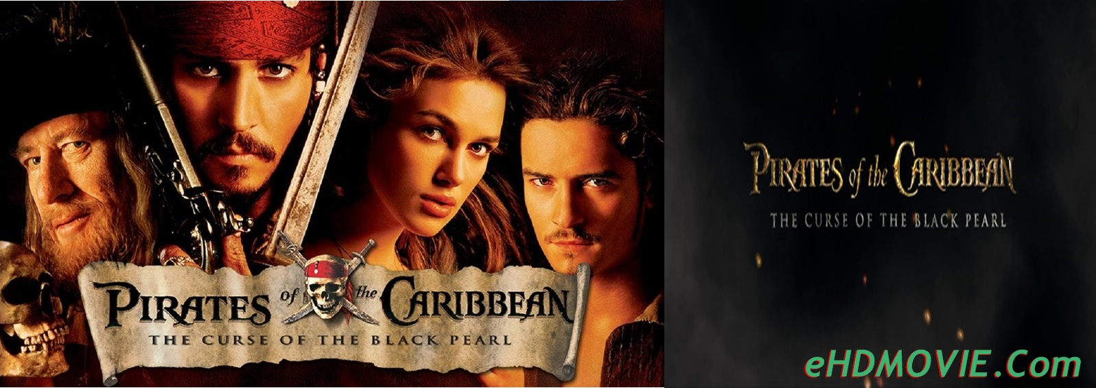 Pirates of the Caribbean: The Curse of the Black Pearl 2003 Full Movie Dual Audio [Hindi – English] 720p – 480p ORG BRRip 350MB – 1GB ESubs Free Download