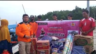 Bersama SAR Hidayatullah, Aulia Fashion Bantu Korban Gempa Sulbar
