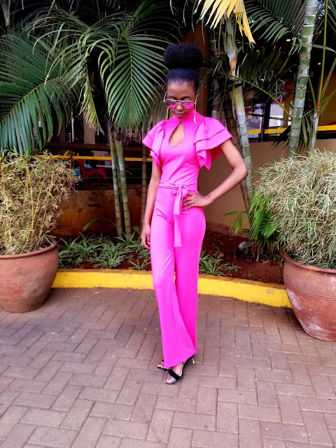 20190601 185108 How To Pull Of A Jumpsuit Thats Bright Pink