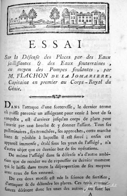 Flachon de la Jomarière - […] Eaux jaillissantes (1785)