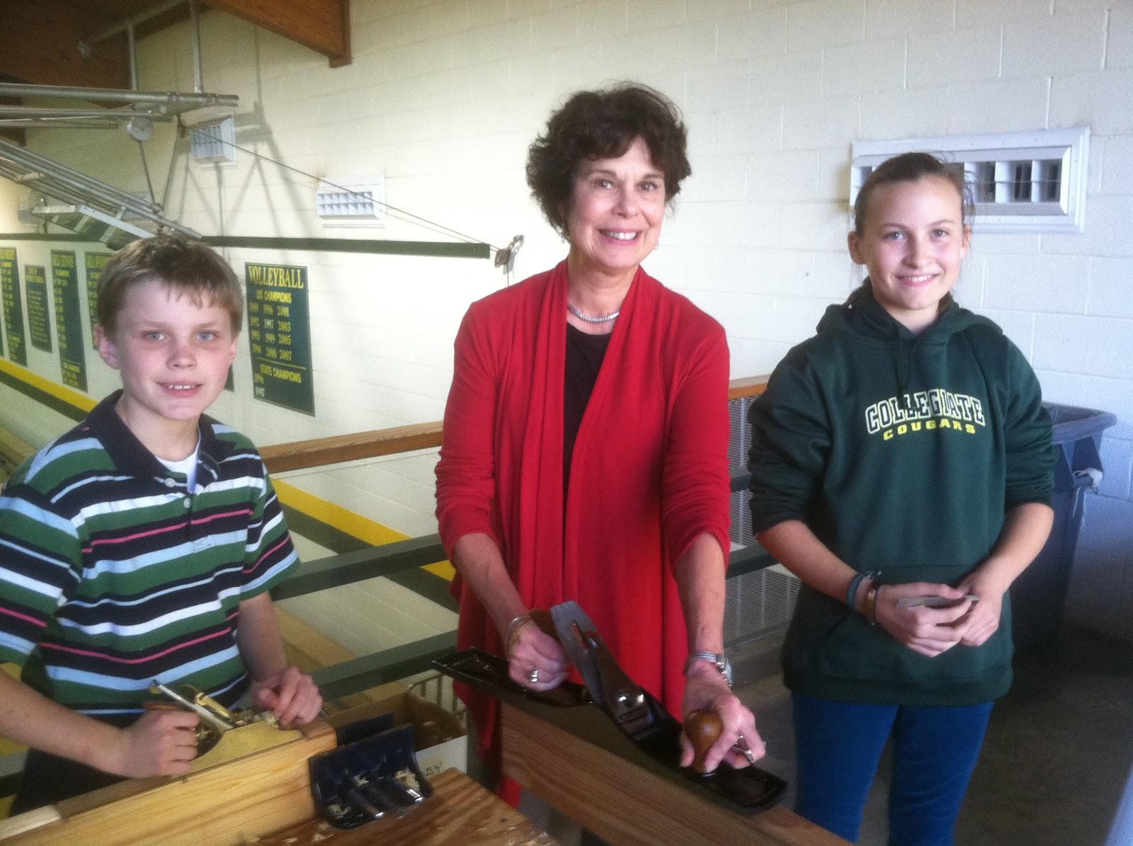 woodworking at collegiate school in richmond, va