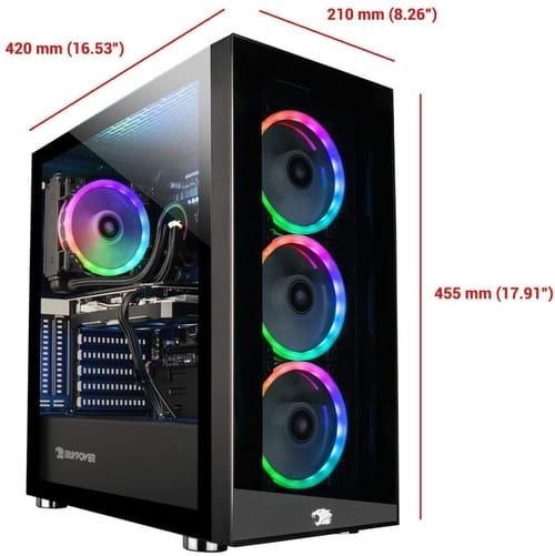 iBUYPOWER Element MR 9320 Gaming PC Desktop
