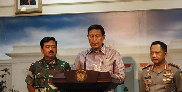 Wiranto: Kita Tahu yang Tunggangi Rusuh Papua, Saya Minta Hentikan