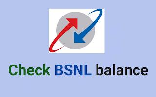 check BSNL balance, BSNL Data balance check