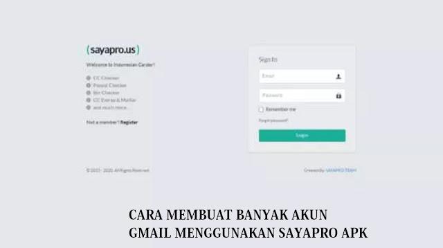 Sayapro APK