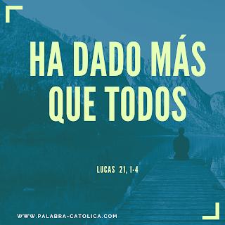 Evangelio del Día Lunes 25 de Noviembre - Lectura y Salmo de Hoy
