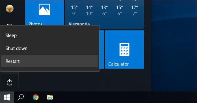 خاصية Windows Spotlight عالقة الصورة