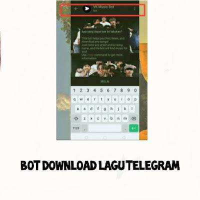 Bot Telegram Download Lagu