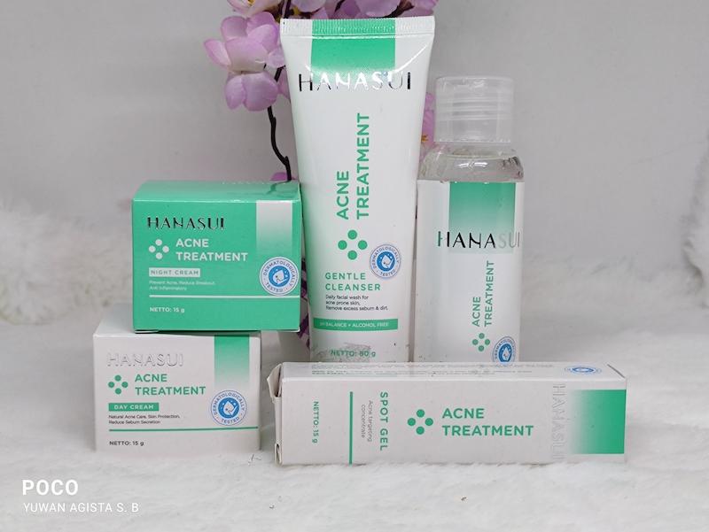 Review Hanasui Acne Treatment Series