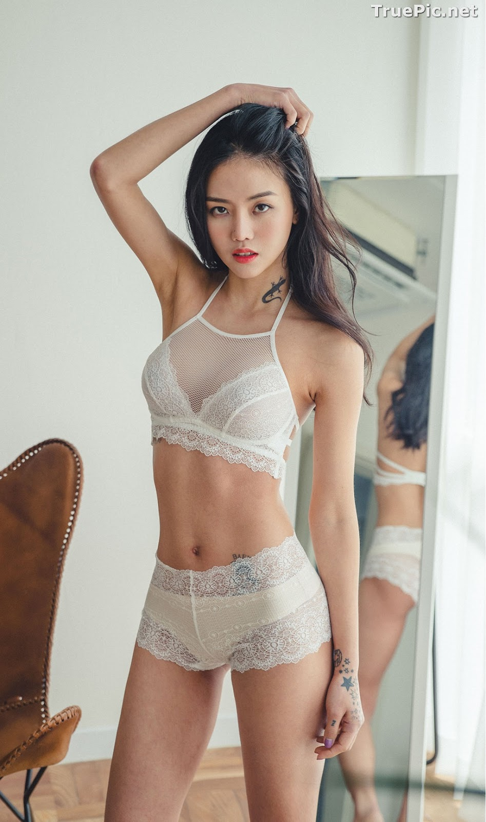 Image Korean Fashion Model – Baek Ye Jin – Sexy Lingerie Collection #6 - TruePic.net - Picture-10