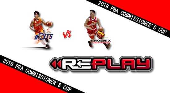 Video Playlist: Meralco vs Phoenix game replay June 8, 2018 PBA Commissioner's Cup