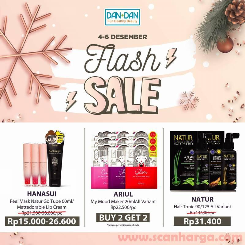 Promo DAN+DAN Weekend Flash Sale Periode 04 - 06 Desember 2020